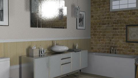 Loft - Bathroom 2 - Eclectic - Bathroom - by LizyD