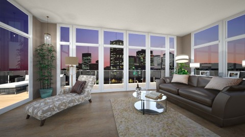 pent house - Living room - by kck22