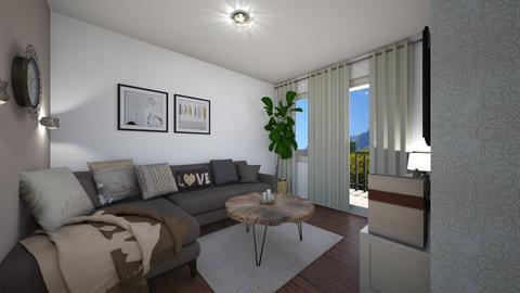 Apartman remodel - Living room - by ivona_h