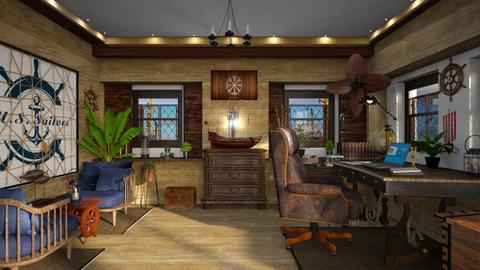 Nautical harbor office - by ZsuzsannaCs