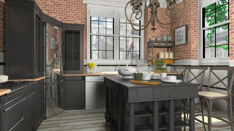 Vintage kitchen - Kitchen - by liling