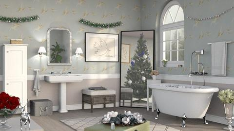 Christmas Bathroom - Classic - Bathroom - by Sally Simpson