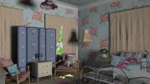 blue vintage - Vintage - Bedroom - by chania