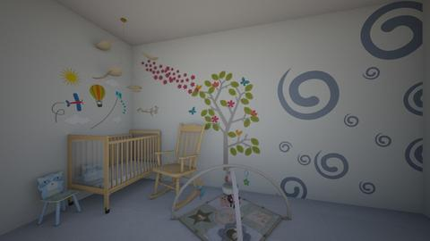 bedroom  - Kids room - by paulinepaulinepauline