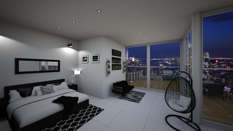 M - Classic - Bedroom - by kellynazha