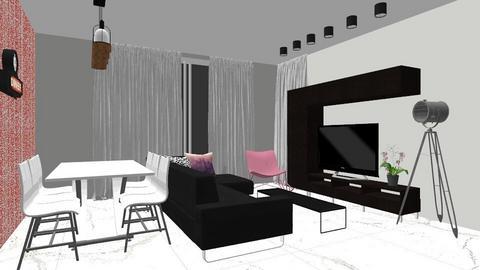 yosef - Modern - Living room - by yosef
