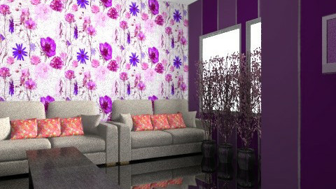 Bright sophisticated living room  - Glamour - Living room - by Hayat Ahmed