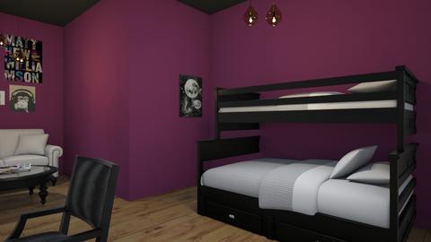 Goth Room - by lilia_barfield