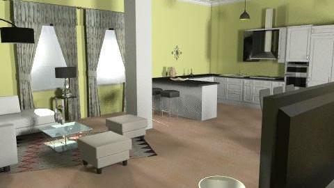 white home - Glamour - by magicadimitrova
