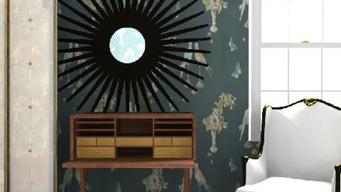 Study corner - by Grant K Gibson