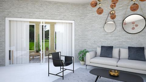 Balcon - Living room - by Carolina Soriani