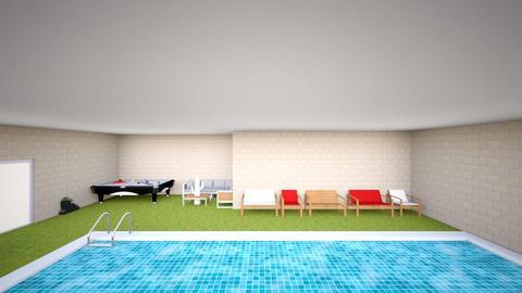 pool - Modern - Garden - by karenyvale2019