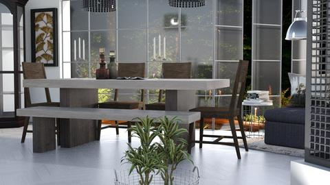 M_ Titan - Dining room - by milyca8