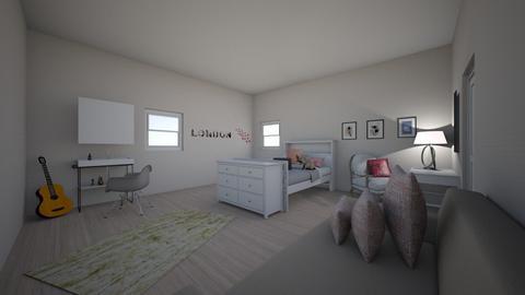 Kates Bedroom - Vintage - Bedroom - by iisenpaiclassify