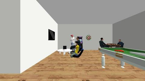 game room - Modern - by cambreemore3467
