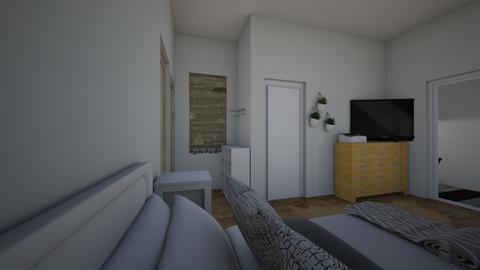 House 202 - Bedroom - by laurenferington