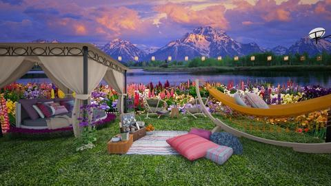 Garden Bedroom - Bedroom - by erstudio
