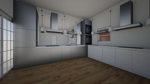 tt - Modern - Kitchen - by alikoo