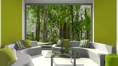 Lime Plastic - Living room - by Wozniazailia_