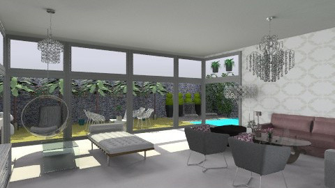 modern living room 1 - Country - Living room - by Paulina Triantafyllou