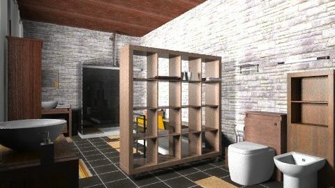 saladeban7 - Rustic - Bathroom - by izarochaa