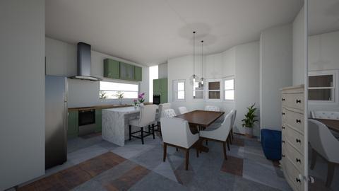KEN HOME4 - Kitchen - by Niva T