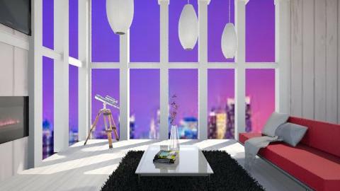 New york - Living room - by Karminn A