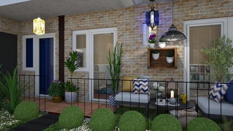Balcony - Garden - by Aurora Boreas