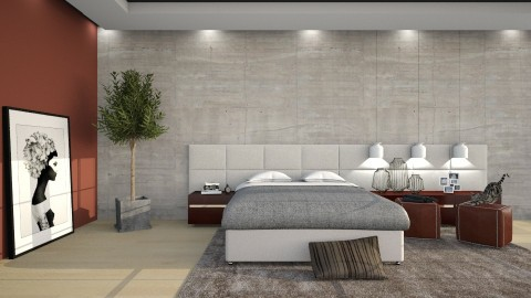 Basic - Modern - Bedroom - by DeborahArmelin