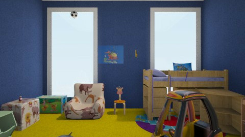 kids - Retro - Kids room - by chiccaxx97