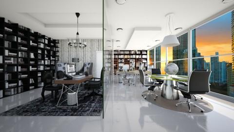 office - Modern - Office - by aletamahi