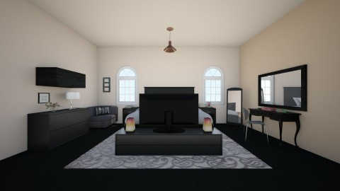 Goth Chic 002 - Bedroom - by jadebeal