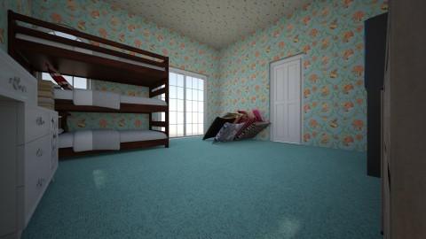 Harriets Dream Room - Feminine - Bedroom - by annabee51