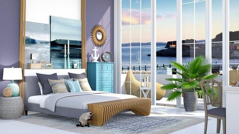 Coastal bedroom - Bedroom - by bananita