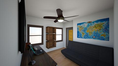 Office - Modern - Bedroom - by ItsSebHdz