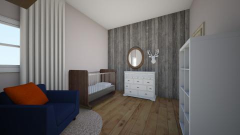 baby boy room - by kristiderev