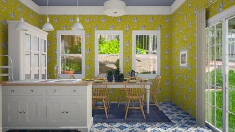 Yellow Kitchen - Kitchen - by eweaver3