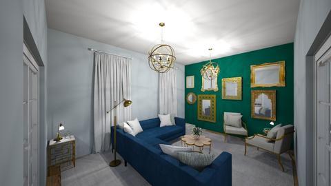 living room s1 - Living room - by dorotazulczyk1