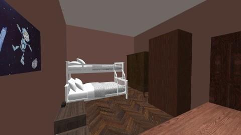 rustic boys bedroom - Rustic - Bedroom - by shadowscythe