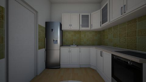 var 1 - Kitchen - by Flori Santa