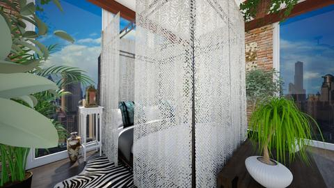 Urban Jungle View 4 - Bedroom - by SammyJPili