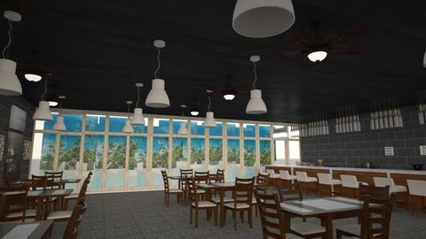 Seafood Restaurant Elite  - Kitchen - by Ashley210