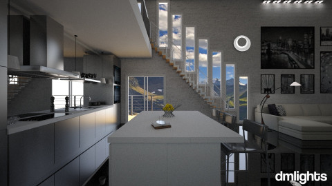 VacationsHome - Kitchen - by DMLights-user-1063855