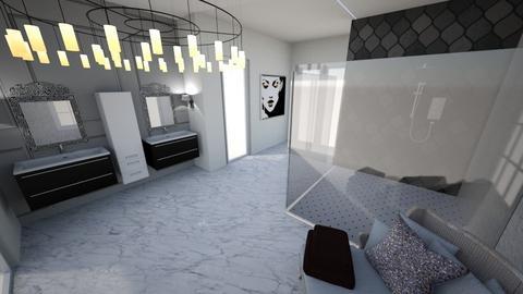 Master bath delux - by Dwellings LLC