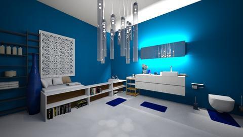 blue and whiten bathroom - Classic - Bathroom - by Braalexdun13