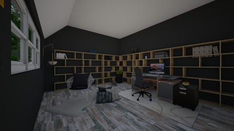 Cozy Cabin  - Modern - Office - by Cat77v