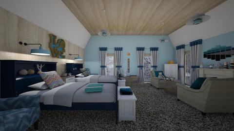 Bear bed - Country - Bedroom - by Claudia Alvarez_150