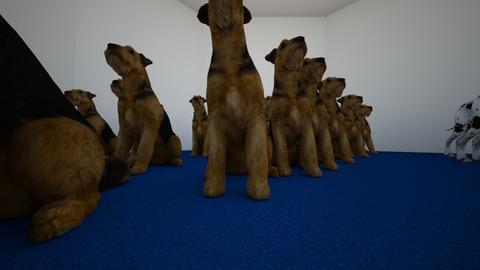 54 dogs yay - Living room - by GeekyGreekNerd1