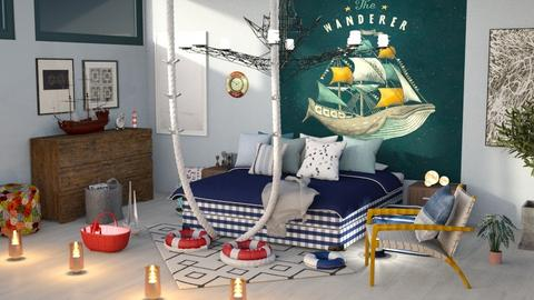 NauticalBedroom - by jasmin_jasmin
