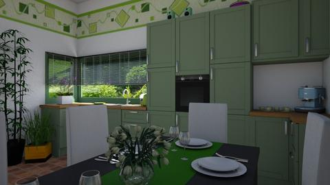 Green dining - by ilcsi1860